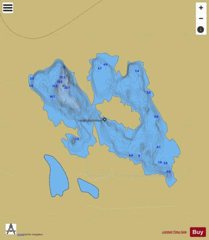Aleck More ( Lough ) Fishing Map - i-Boating App
