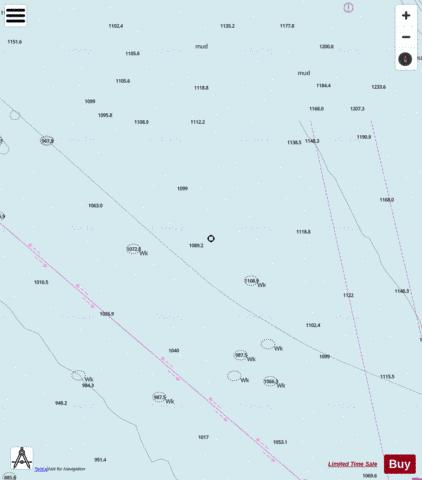 Lista; ytre Marine Chart - Nautical Charts App