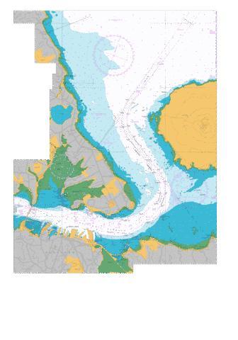 Auckland harbour east nu marine chart nz nz5322 1 nautical