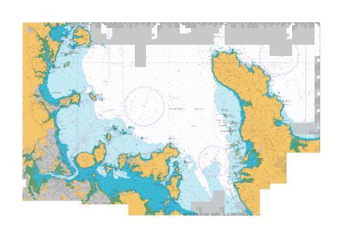 Approaches to auckland nu marine chart nz nz532 1 nautical