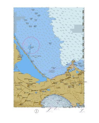 South-Western Part of Sea of Azov.  Black Sea. Feodosiia  Marine Chart - Nautical Charts App