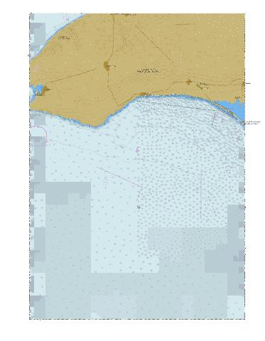 Approaches to Donuzlav Lake  Marine Chart - Nautical Charts App