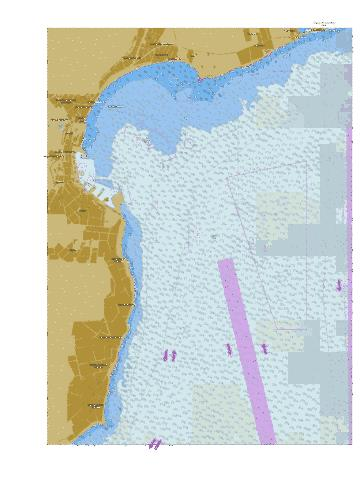 Approaches to Odesa Port Marine Chart - Nautical Charts App