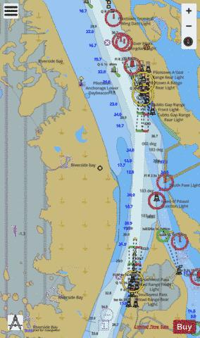 HEAD OF PASSES Marine Chart - Nautical Charts App