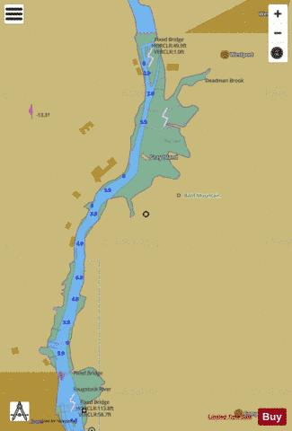 WESTPORT EXTENSION OF INSET 4 Marine Chart - Nautical Charts App