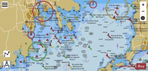 South Coast Cape Cod Buzzards Bay Ma Marine Chart