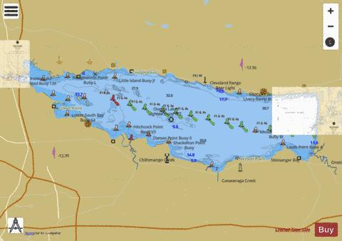 Oneida Lake Map ONEIDA LAKE (Marine Chart : US14786_P1073) | Nautical Charts App