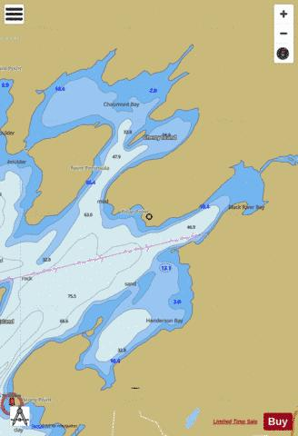CHAUMONT HENDERSON AND BLACK RIVER BAYS NEW YORK Marine Chart - Nautical Charts App