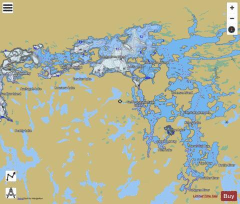 Lac La Croix Marine Chart Nautical Charts