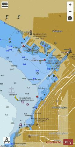 BELLINGHAM HARBOR Marine Chart - Nautical Charts App