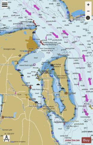 PORT TOWNSEND Marine Chart - Nautical Charts App