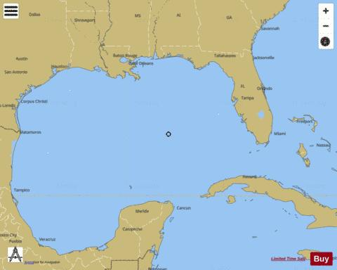 GULF OF MEXICO Marine Chart - Nautical Charts App