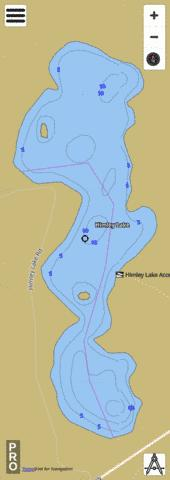 Himley Lake Fishing Map - i-Boating App