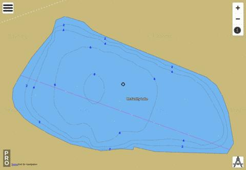 McCarthy Lake Fishing Map - i-Boating App
