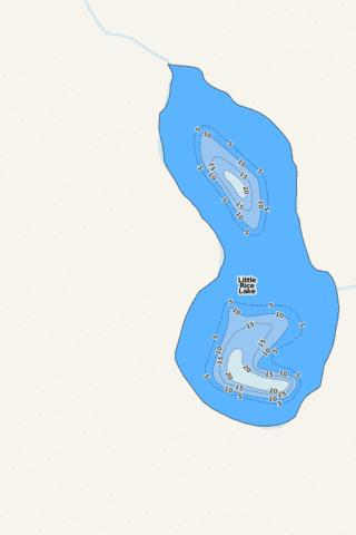 Little Rice Fishing Map - i-Boating App