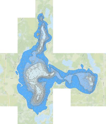 Big Marine Fishing Map - fishing-Real Estate-lake homes for sale
