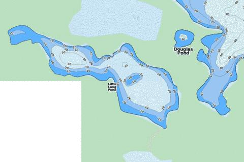 Little Long Pond Fishing Map - i-Boating App