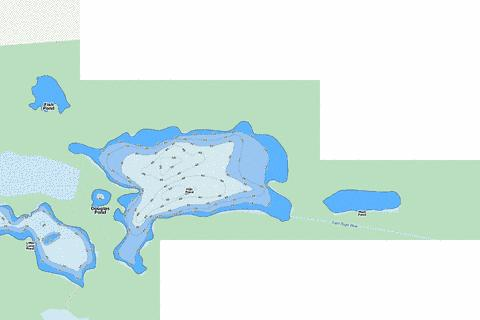 Fish Pond Fishing Map - i-Boating App