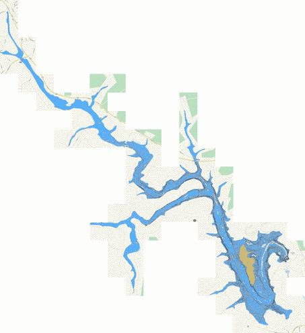 Blue Marsh Lake Map Blue Marsh Lake (Fishing Map : US_PA_01194768) | Nautical Charts App Blue Marsh Lake Map