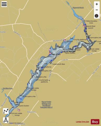 Lake Nockamixon Map Lake Nockamixon (Fishing Map : US_PA_dcnrfeb2017_ofmi_16_09_0  Lake Nockamixon Map