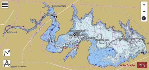 Choke Canyon State Park Map Choke Canyon Reservoir (Fishing Map : US_TX_01372011) | Nautical