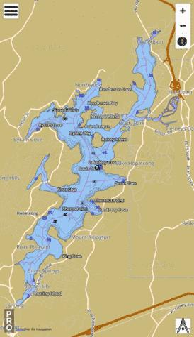 Lake Hopatcong Map Lake Hopatcong (Fishing Map : US_UB_NJ_00877238) | Nautical Charts App