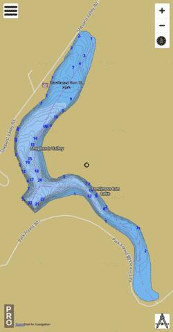 Tomlinson Fishing Map - i-Boating App