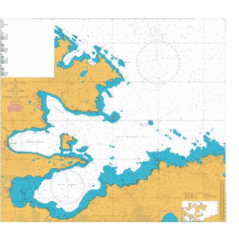 Plan G - Approaches to Leith- Stromness and Husvik Harbours Marine Chart - Nautical Charts App